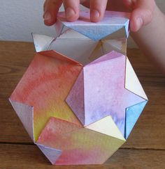 Star Lantern Kit -- you and your child can make a beautiful dodecahedron lamp -- waldorf inspired handwork project.