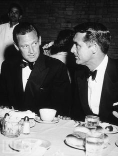 William Holden and Cary Grant