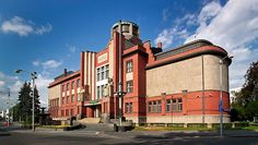 Muzeum Vychodnich Cech-v-hradci-kralove Art Deco Hotel, Brick Architecture, Lake Superior, Art Deco Design, Art Deco Fashion, Czech Republic, All Over The World, My House, Art Nouveau