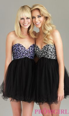 Turmec » strapless homecoming dress by night moves 6487