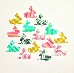 patterned rabbits by McMoth