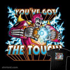 You've got the Touch! | Shirtoid #film #heman #hotrod #mastersoftheuniverse #movie #nathandavis #obvian #transformers #tvshow