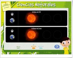 """""""Los eclipses"""" (Actividad interactiva de Ciencias Sociales de Primaria)"""