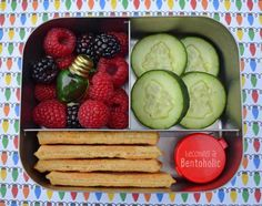 Holiday #bento in the LunchBots Trio. Happy and Healthy Holidays to all!