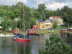 Kappelisatama, Hanko, Finland Finland, Country, Places, Rural Area, Country Music, Lugares