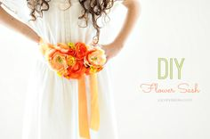 How to make a Flower Sash