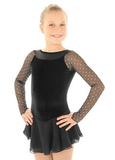 Skating dress from Elite Expression,  model#1331-Perfect for testing!
