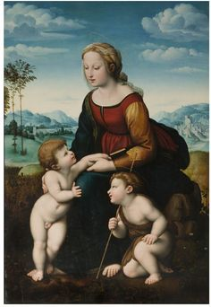 The Madonna of Leo X   Raphael (1483-1520)   early 16th century
