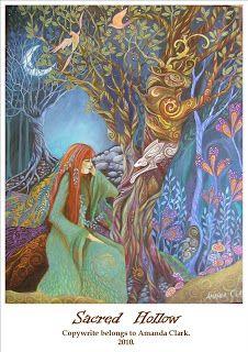 Sacred Hollow par Amanda Clarke