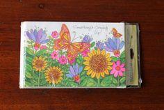 Hallmark Party Invitations Floral Butterflies by LifesAYoyo
