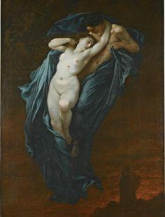 necspenecmetu:    Gustave Dore, Paolo and Francesca da Rimini, 1863.