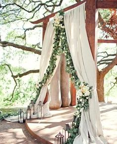 Take inspo from this romantic wedding arch when planning a woodland wedding. – Brit Morin Take inspo from this romantic wedding arch when planning a woodland wedding. Take inspo from this romantic wedding arch when planning a woodland wedding. Perfect Wedding, Dream Wedding, Wedding Blog, Trendy Wedding, Fall Wedding, Geek Wedding, Celtic Wedding, Renaissance Wedding, Wedding Photos