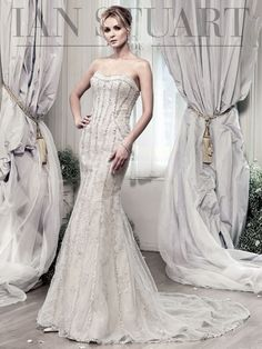 Elegant Lady Luke Collections of Ian Stuart Bridal Dresses