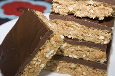 Chocolate Peanut Butter Pretzel Bars