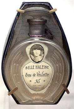 """Belle Haleine, """"Eau de Voilette"""" by Marcel Duchamp."""