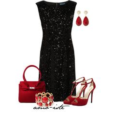 """Sequined Velvet"" by amo-iste on Polyvore"