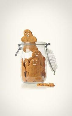 Gingerbreadman escapes