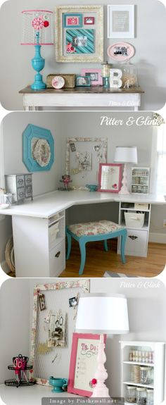 adorable craft room