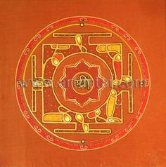 """Cercle Vermell -""""Todos los Mandalas tienen tres significados uno interno, otro externo y un significado secreto. En el aspecto interno, el mandala se convierte en una especie de mapa a través del cual la mente ordinaria puede tener la experiencia de la realización o iluminación. En el aspecto exterior el Mandala representa el mundo en su forma divina. El significado secreto tiene que ver con el equilibrio entre las energías sutiles... """"Los Chakras – Mandalas de energia"""" de Tat Estrada. Edit…"""