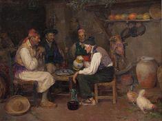 Palique y trago por Jose Benlliure Gil (1855-1937) - Museo Nacional del Prado