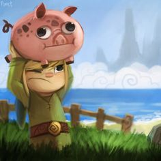 The Legend of Zelda: The Wind Waker by Cryptid Creations | #TWWHD #WiiU