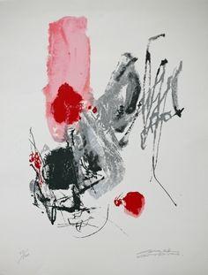 Lithographie -  Chu teh chun