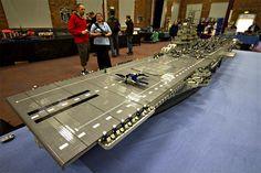 The Worlds Largest Lego Ship