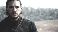 Pin for Later: A Celebration of Jon Snow and His Sexy Man Bun on Game of Thrones And it blows ever so gently in the breeze.