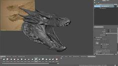 Making of Smaug by Weta DigitalComputer Graphics & Digital Art Community for Artist: Job, Tutorial, Art, Concept Art, Portfolio