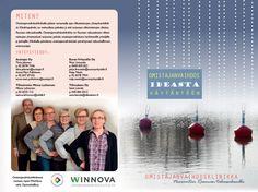 Omistajanvaihdos ideasta käytäntöön -esite, WinNova 2014 (kannet). Taitto ja valokuvat: Henna Engren