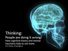 Cognitive Biases in Sales and Marketing [SLIDES]