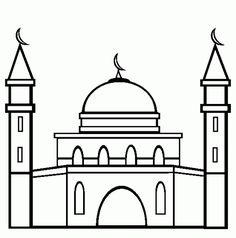 """Meem""""م"""" , masjid, mosque, مسجد Meem""""م"""", methana, minaret, مئذنة"""