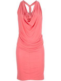 Alexander McQueen coral dress