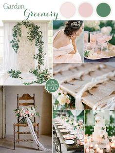 Emerald Green Wedding Ideas with Summer Peach March Wedding Colors, Summer Wedding Colors, Summer Flowers, Unique Wedding Colors, November Wedding, Wedding 2017, Wedding Summer, Garden Wedding, Wedding Fun