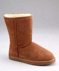 Loving this Wheat Whistler Suede Boot on #zulily! #zulilyfinds