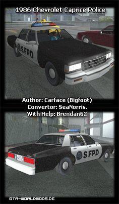 1983 Chevrolet Caprice Police