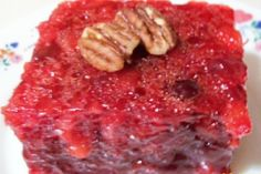 Cranberry Jello Salad W/ Port Wine