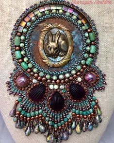 #beadwork #beadbroid
