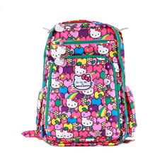 Ju-Ju-Be Be Right Back Lucky Stars Hello Kitty Diaper Backpack Small Diaper d3415a1db2cfe