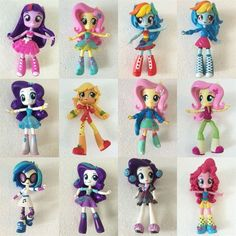 All about Monster High: My Little Pony Equestria Girls Mini, new dolls!!!