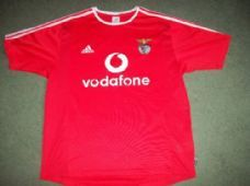 2003 2004 Benfica Home Football Shirt Adults Large Camiseta Top Portugal