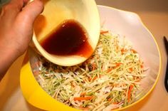 Busy moms oriental salad with ramen noodles