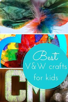 Hodge Podge Craft- The best V&W craft ideas for kids