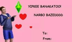Sims valentine