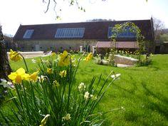 Spring time - The Tithe Barn