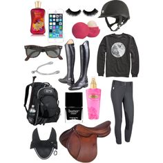 A fashion look from October 2013 featuring patterned shirts, pocket bag and uv protection sunglasses. Browse and shop related looks. Equestrian Chic, Equestrian Outfits, Outfit Goals, Outfit Sets, Horseback Riding Outfits, Horse Riding Clothes, Horse Fashion, English Fashion, Horse Girl