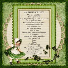 This wonderful St. Patrick's Day image and poem are the work of a cousin, Sandra Smith Gwilliam!     I love the pic, thanks! Have a look at these FREE ST. PATRICK'S DAY CLIP ARTS.  http://www.teacherspayteachers.com/Product/St-Patricks-Day-Free-Clip-Art-Images