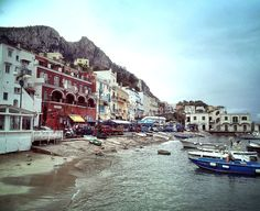 Capri port, a true safe haven for many of us......