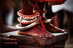 India | Feet of a Kathivanoor Veeran Theyyamperformer. Kannur, Kerala | ©Joshi Daniel