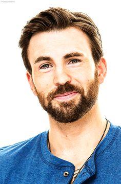 He makes me smile. Plus I like his beard!